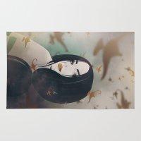 jasmine Area & Throw Rugs featuring Princess Jasmine by Seventy Two Studio