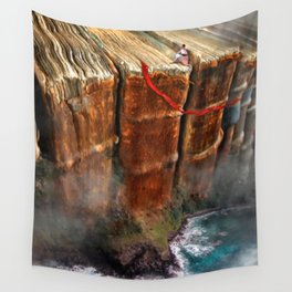 Cliffhanger Wall Tapestry