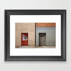 Brooklyn Heights Framed Art Print