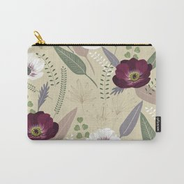 Anemones & leaves Carry-All Pouch