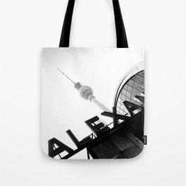 Berlin Alexanderplatz Station Tote Bag