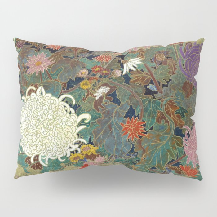 flower【Japanese painting】 Pillow Sham