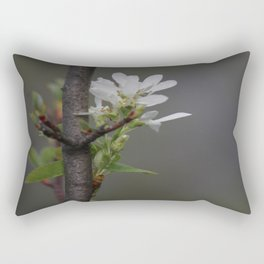Twig and Blossom Rectangular Pillow