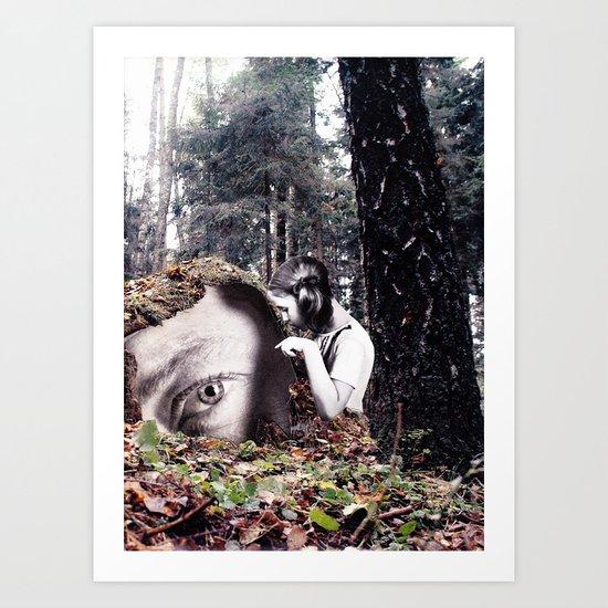 iContact Art Print
