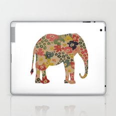 Flower Power Elephant Laptop & iPad Skin