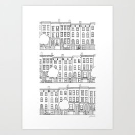 blocks of Brooklyn Art Print