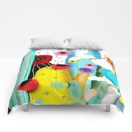 Cactus Mexico Comforters