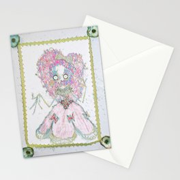 Velvetesque Dolls • Victorian Collection #3B Stationery Cards