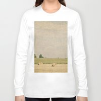farm Long Sleeve T-shirts featuring Farm by Pure Nature Photos