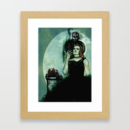 Regina Inferi Framed Art Print