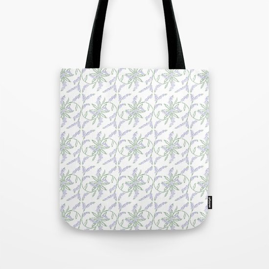Forget-me-not pattern Tote Bag