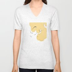 The Yellow Clouds Unisex V-Neck