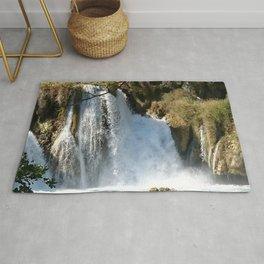 Waterfalls KRK, Croatia 2 Rug