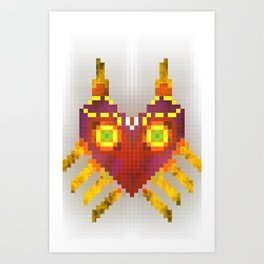 Majora's mask - legend of zelda Art Print