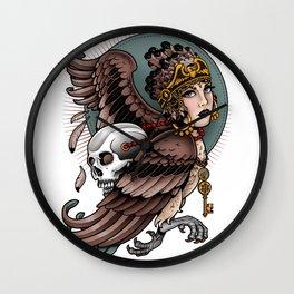 Harpy Girl Wall Clock