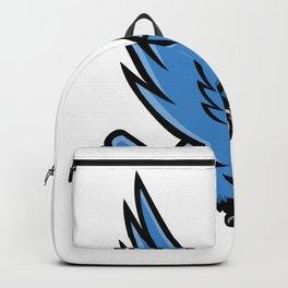 Horned Owl Swooping Mascot Backpack
