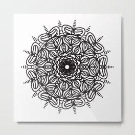 Spiral hand made 2 Metal Print