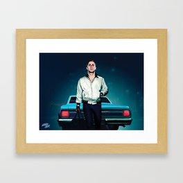 'Drive' Ryan Gosling Framed Art Print
