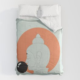 Buddha : Concentrate on the Void! Comforters