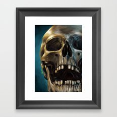 Skull 4 Framed Art Print