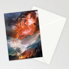 Lightning Bolt Stationery Cards