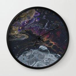 Moon Heart Wall Clock