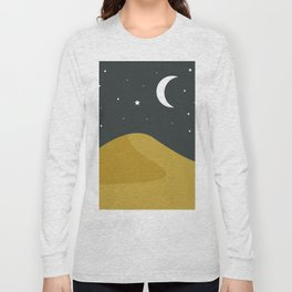 Starry Desert Long Sleeve T-shirt