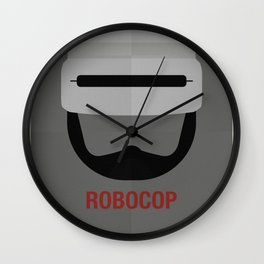ROBOCOP Wall Clock