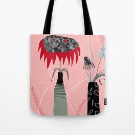 Horror flowers 2 Tote Bag