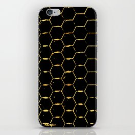 golden beehive iPhone Skin