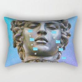 Sad Gurl Aesthetics Rectangular Pillow