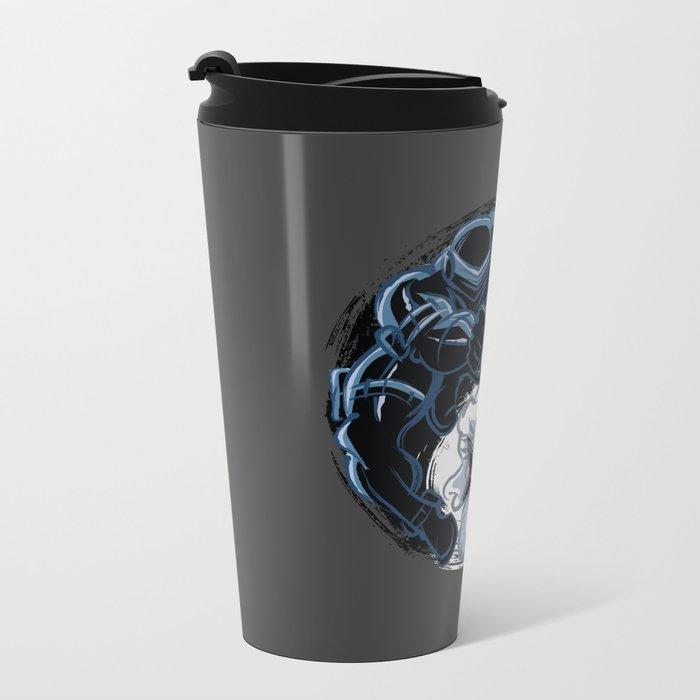 Snake Eyes/Storm Shadow  Metal Travel Mug