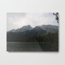 Leigh Lake Metal Print
