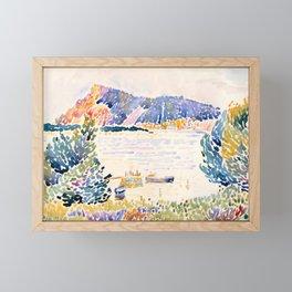 "Henri-Edmond Cross ""Cap Nègre"" Framed Mini Art Print"