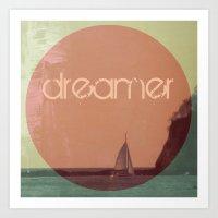 dreamer Art Prints featuring Dreamer by Endless Summer