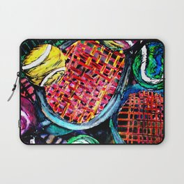 Wild Tennis artwork Laptop Sleeve