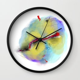 unsettled Wall Clock