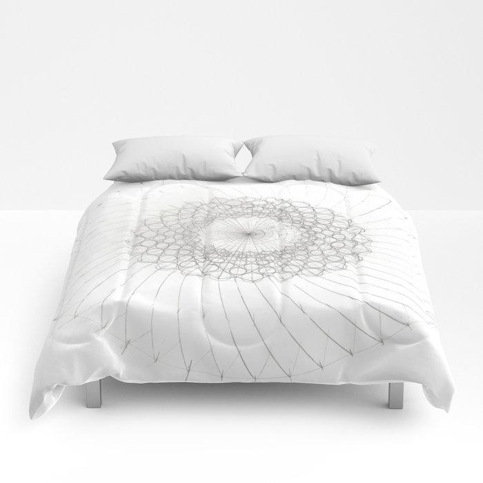 Geometrical Sunflower Comforters