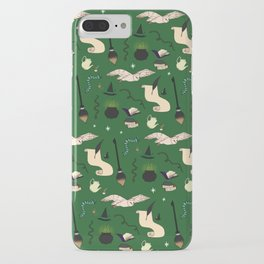 Slytherin Pattern iPhone Case