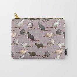 Pixel Rats Carry-All Pouch