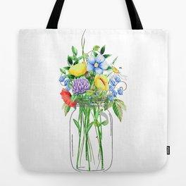 Flowers in a Jar Tote Bag