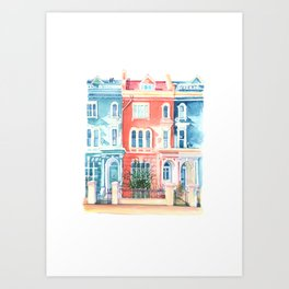 London, Notting Hill Art Print