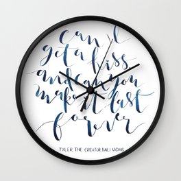can I? Wall Clock