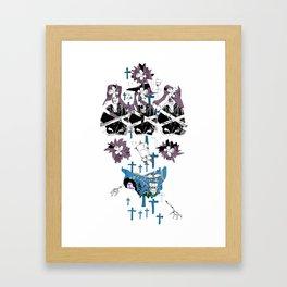 CutOuts - 15 Framed Art Print