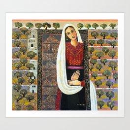 Vision by Nabil Anani Art Print