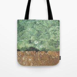Sea contrast Tote Bag