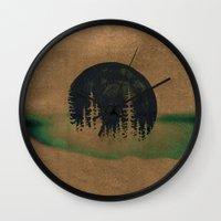 oasis Wall Clocks featuring oasis? by KrisLeov