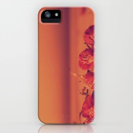 Dead Roses iPhone Case