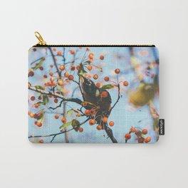 Bird & Berries Carry-All Pouch