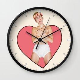 Miley #4 Wall Clock